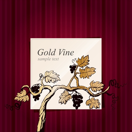 vine art: Wine list design