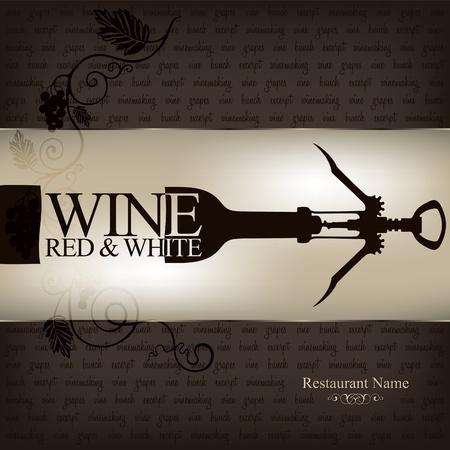 Wijnkaart ontwerp