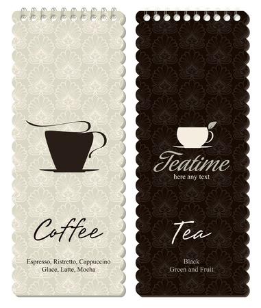 menu de postres: Men� para el restaurante, cafeter�a, bar, cafeter�a
