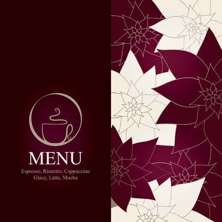 cafe bar: Menu voor restaurant, cafe, bar, koffiehuis