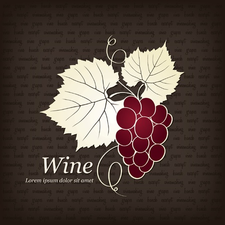 wine label: Wine label design