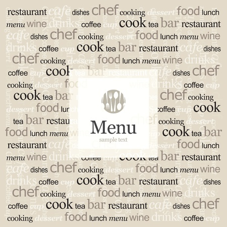 Vector. Restaurant menu Vector
