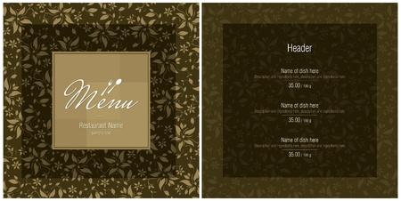 Restaurant menu Stock Vector - 11023769