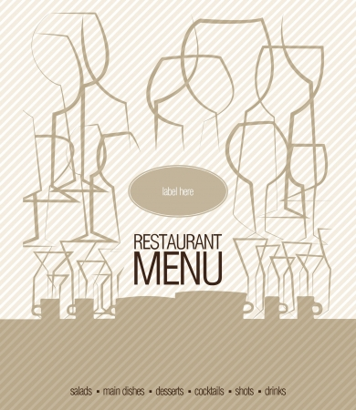 cover menu: Restaurant menu
