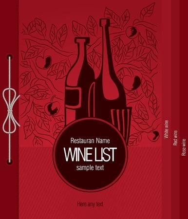 Conception de carte des vins