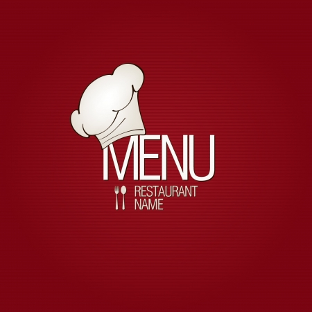 menu de postres: Restaurante a la carta Vectores