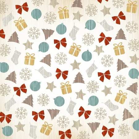 Background christmas. Christmas decoration  Vector