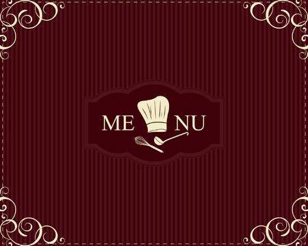 dessert fork: Restaurant menu