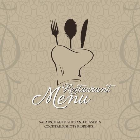 restaurant background: Restaurant menu