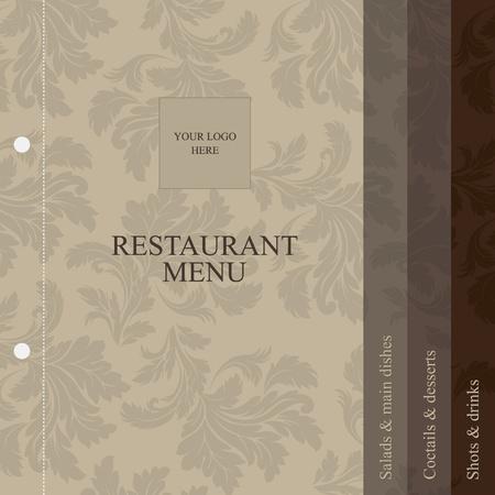 menu de postres: Men� de restaurante