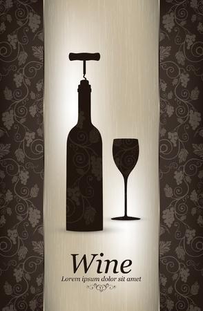 La conception des vins Vecteurs