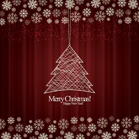 Abstract background Christmas Stock Vector - 11539266