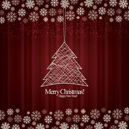 weihnachten: Abstract background Christmas