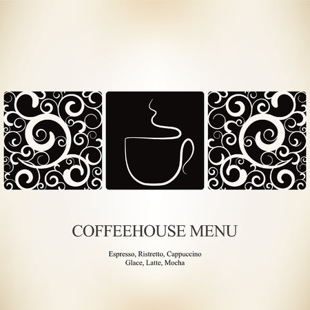 classic house: Vector. Restaurant or coffee house menu design