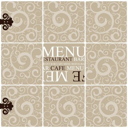 Vector. Restaurant menu design  Stock Vector - 11539257