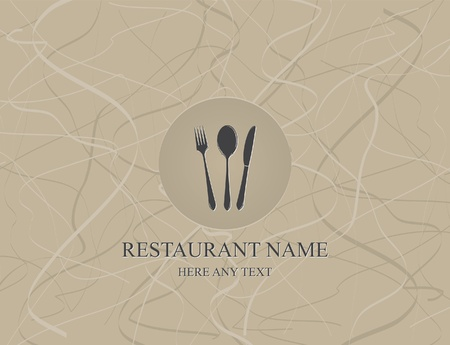 dining: Vector. Restaurant menu design