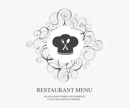Restaurant menu concept design  Stock Vector - 11659394