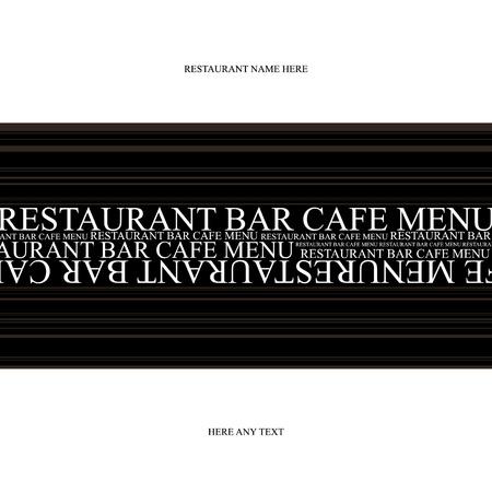 holiday food: Vector. Restaurant menu design