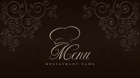 Vector. Restaurant menu design  Vector
