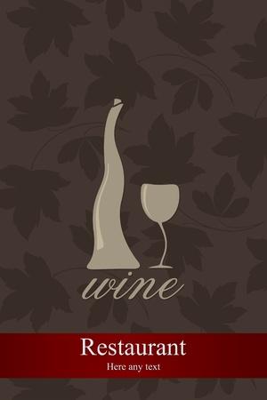 Wine list design Stock Vector - 11659406