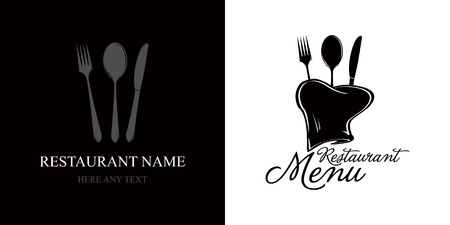 Label for restaurant menu  Vector