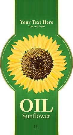 package design: Design labels sunflower oil, or any other product from sunflower