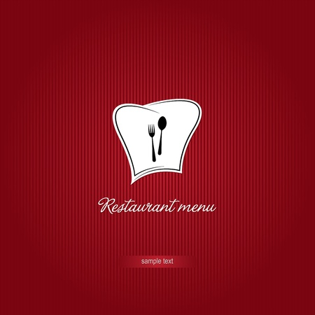 Vector. Restaurant menu design