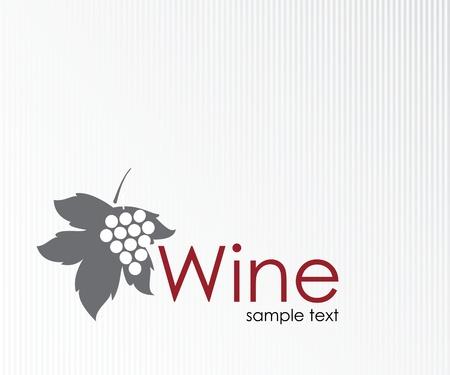 Wijn labelontwerp
