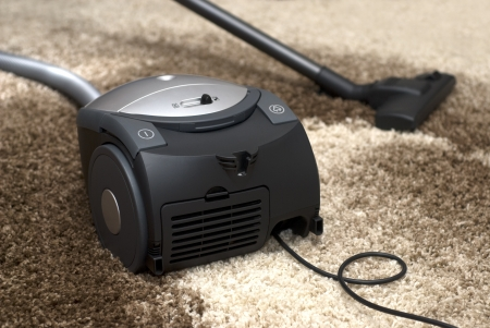 Vacuum cleaner - carpet cleaning  photo