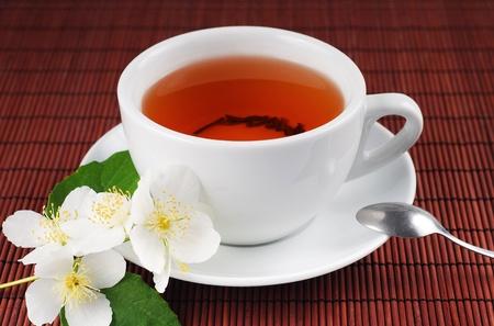 cup saucer: Tea time series  Stock Photo