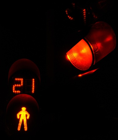 semaphore: Traffic light - stoplight  Stock Photo
