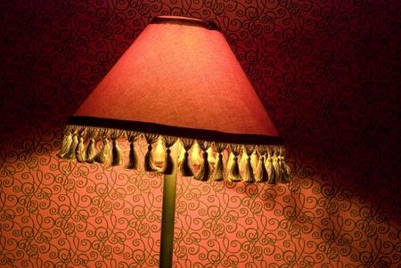 lampekap: Oude lampenkap Stockfoto