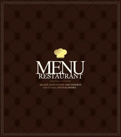 restaurant dining: Vector. Restaurant menu design
