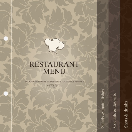 Vector. Restaurant menu design Stock Vector - 11657634