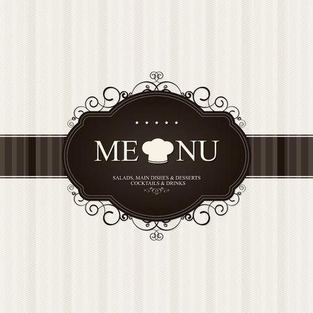 fond restaurant: La conception du menu des restaurants