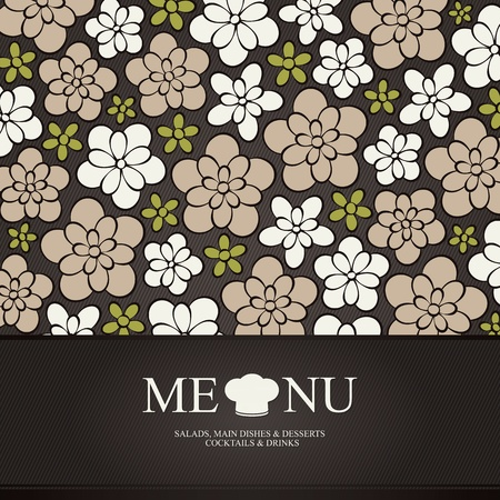 Restaurant menu Stock Vector - 12245138