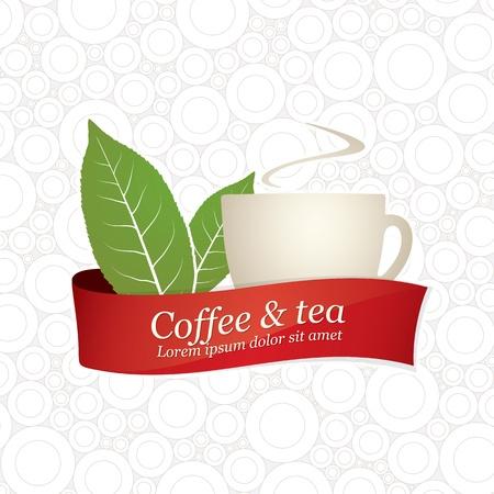 cafe bar: Label ontwerp voor restaurant, cafe, bar, koffiehuis