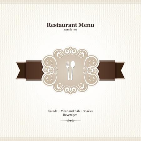 Menu for restaurant, cafe, bar, coffeehouse Stock Vector - 12833959