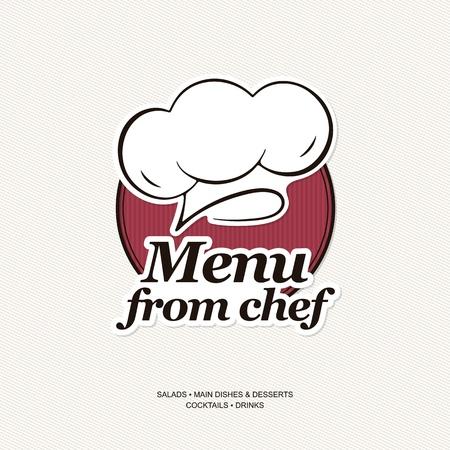 chapeau chef: La conception du menu des restaurants