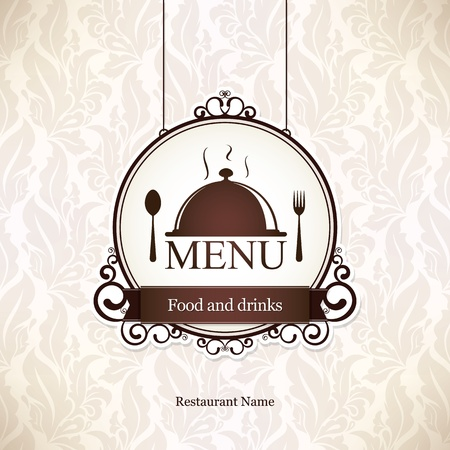 Restaurant menu Design Archivio Fotografico - 12992146