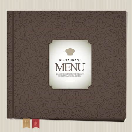 Restaurant menu design Stock Vector - 13195470