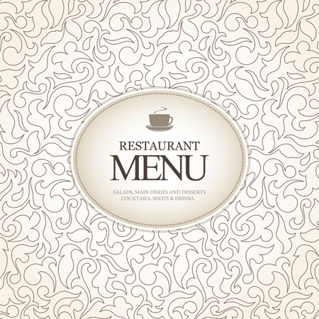 bar menu: Restaurant menu design