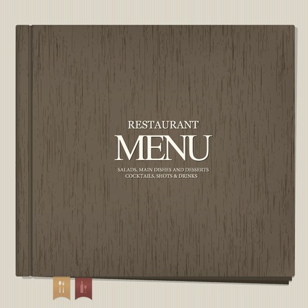 Restaurant menu design Stock Vector - 13195478