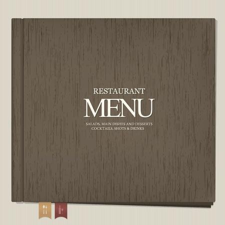 Restaurant menu design Stock Vector - 13195478