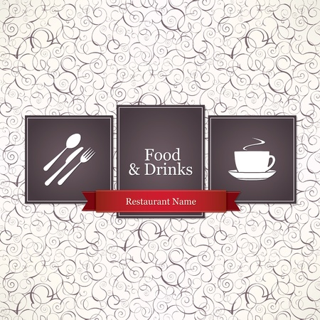 Restaurant menu design Stock Vector - 13195479