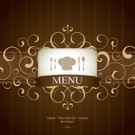 Restaurant menu design Stock Vector - 13702150