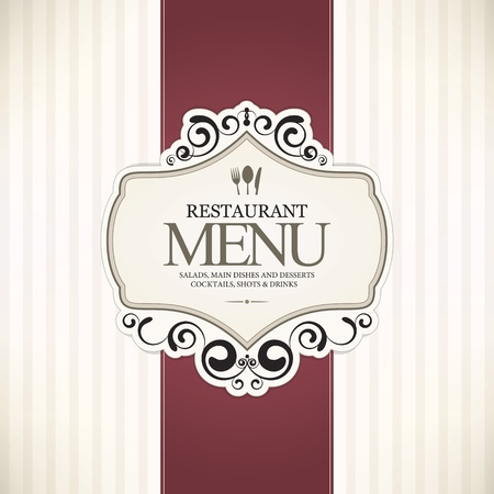 Restaurant menu design Stock Vector - 13702201