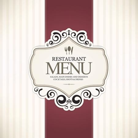 Restaurant menu design Stock Vector - 13702201
