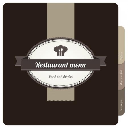 Restaurant menu design Stock Vector - 13702177