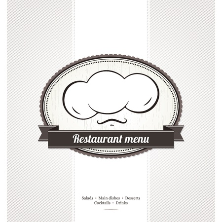 Restaurant menu design Stock Vector - 13702205